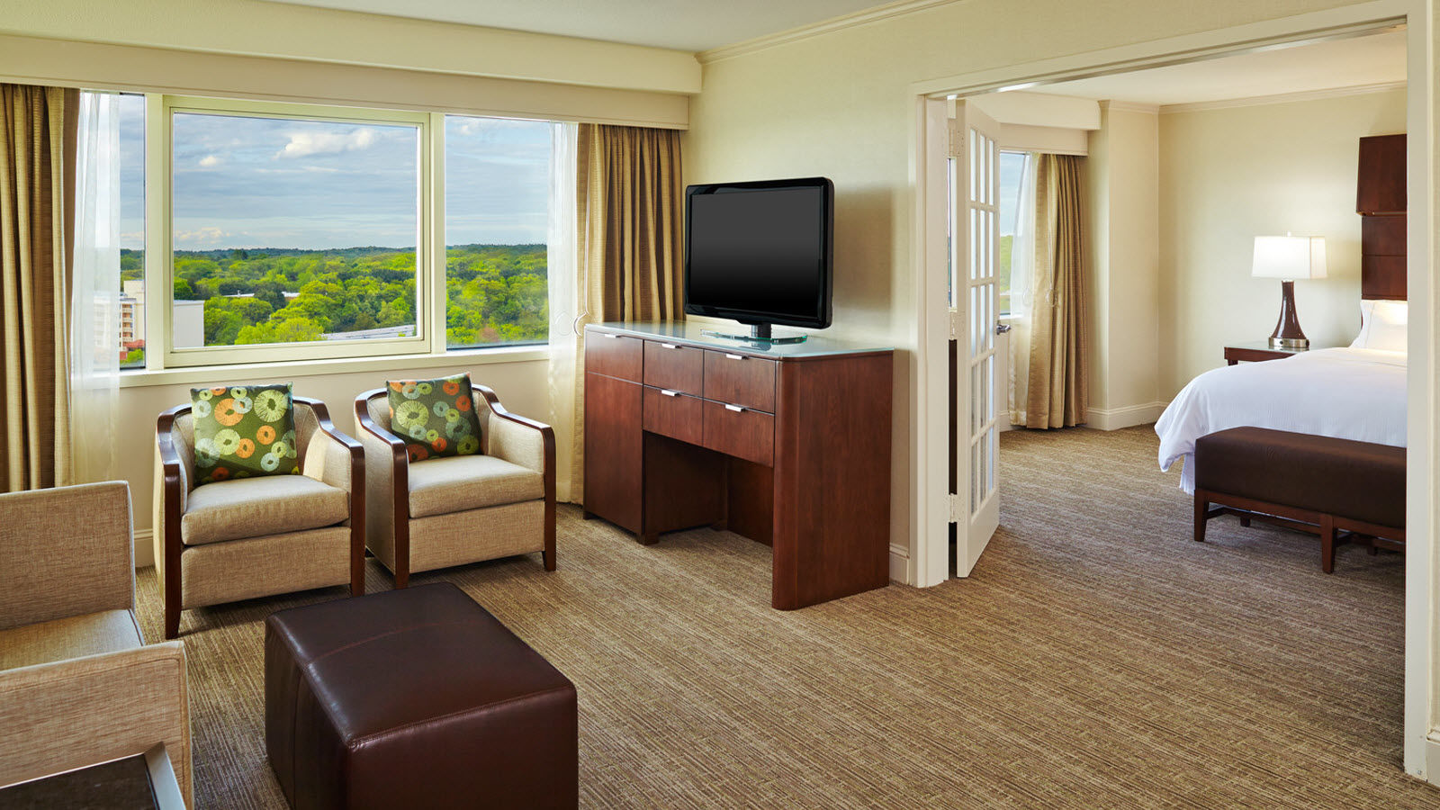 The Westin Waltham Boston prospect suite